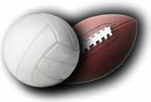 Football, Volleyball