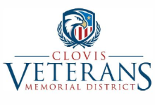 Clovis Veterans Memorial District Logo