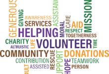 Volunteer Words