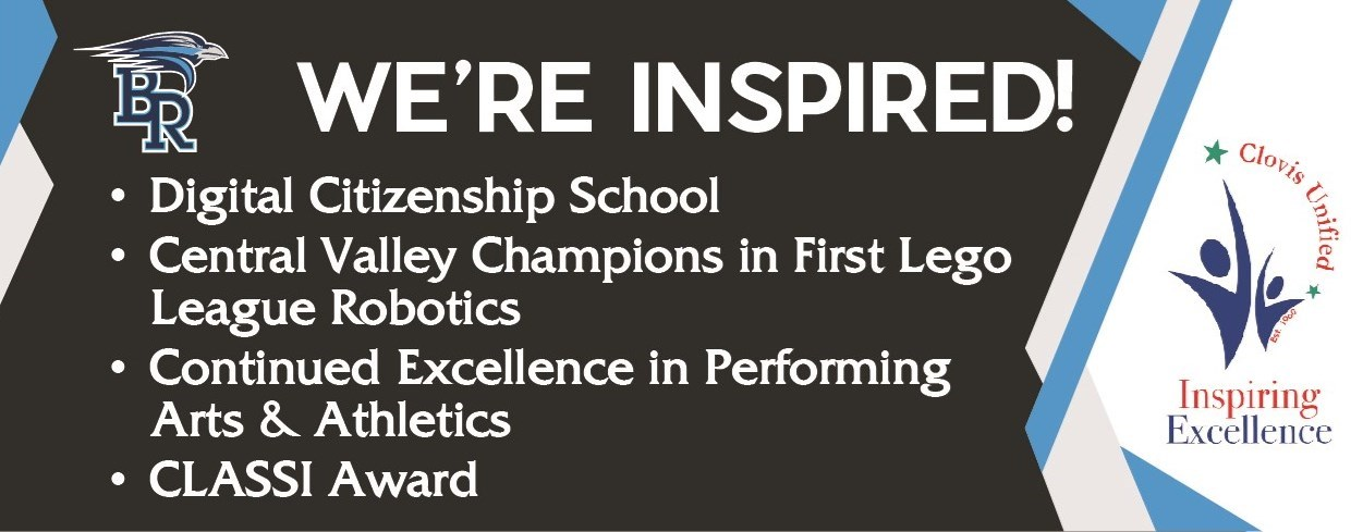 We're Inspired Awards